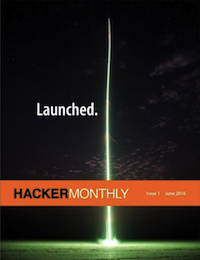 Hacker Monthly cover image