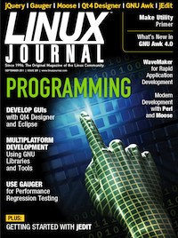 Linux Journal cover image